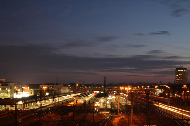 Image for Ulm Nighttime: Bahnhof